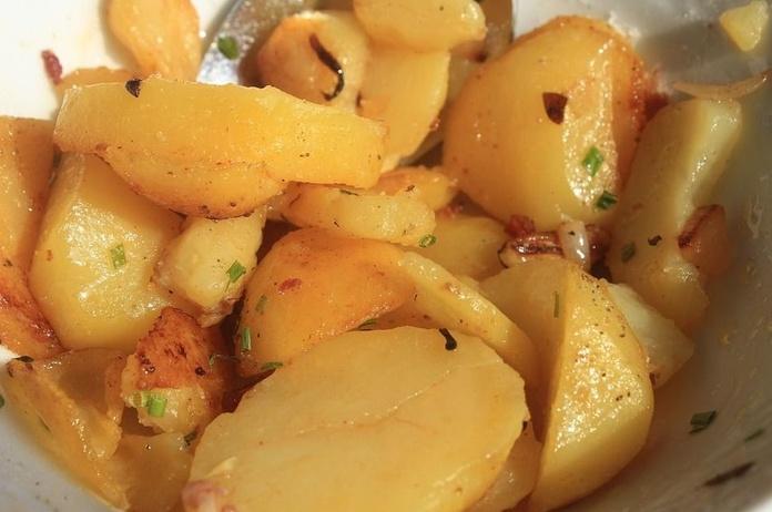 Patatas de la casa: Nuestros Platos de Don Gallo
