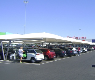 Carpas para parking comerciales