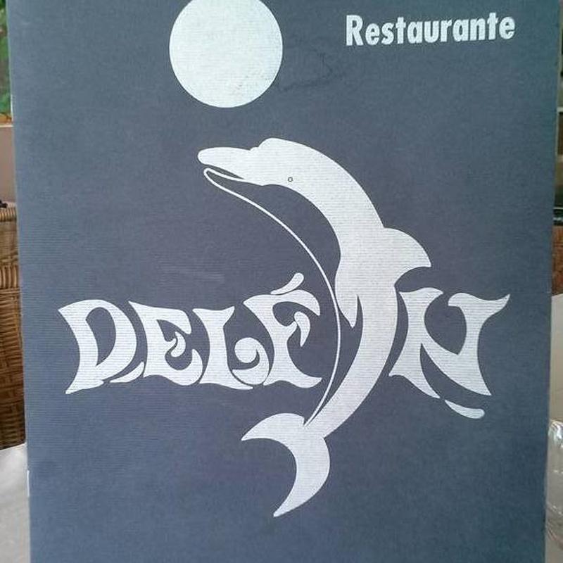 Menús: Carta de Restaurante Delfín