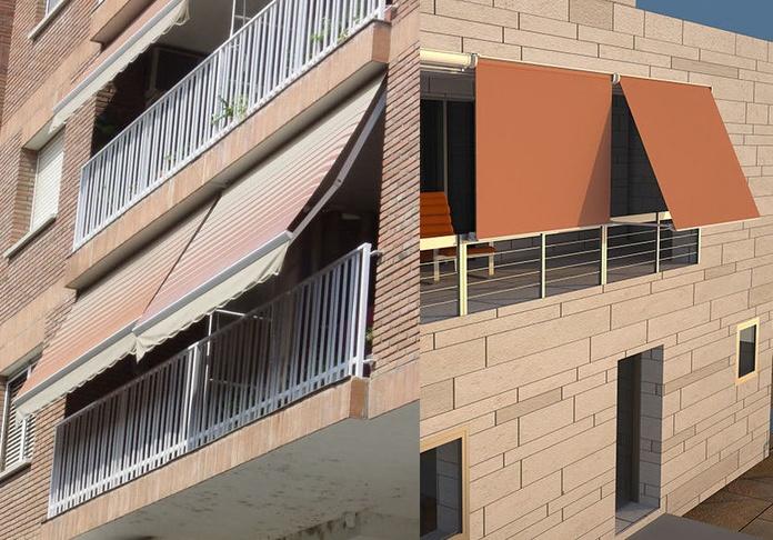 Toldos para balcones