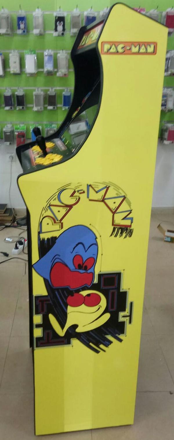 Bartop con pie Pacman