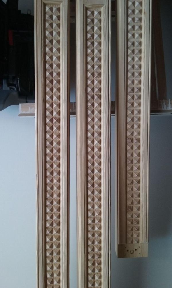 Fabricaciôn marco para puerta antigua en pino