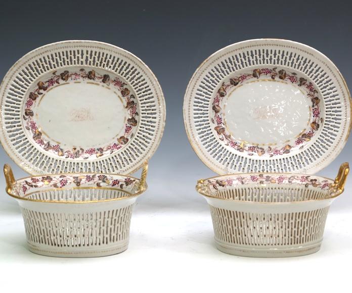 Pareja de cestas: Catálogo de Goya Subastas