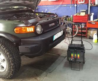 Kit profesional extractor e instalador de silentblocks : Servicios de Talleres LGA