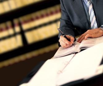 Particulares: Áreas de actuación de Jurado Luque, B - Espinosa Galisteo L - Ledo Pérez M