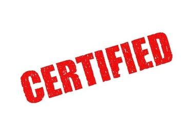 Certificación veterinaria
