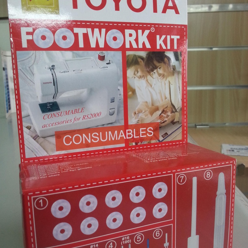 KIT TOYOTA FOOTWORK BÁSICO: Catálogo de Co.Ma.Tex.