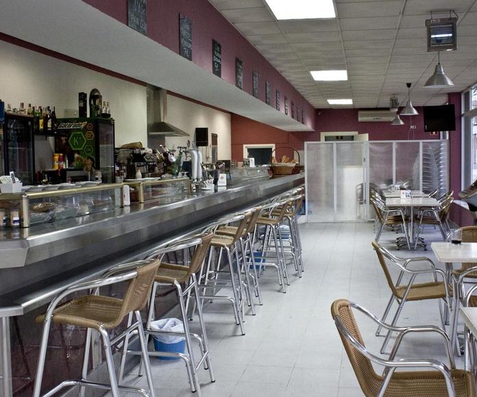 Cafetería del CN Moscardó renovada