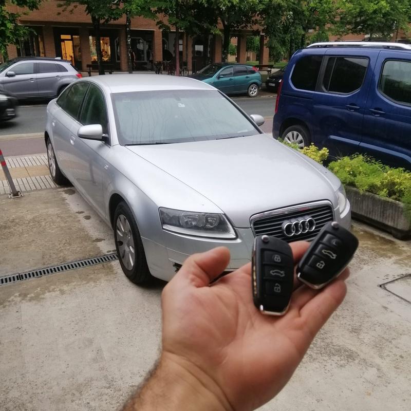 Programación de llave de Audi A8 del 2008