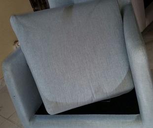 Limpieza de tapicería por siniestro por incendio en Madrid