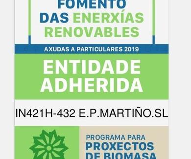 E.P. MARTIÑO, S.L. con las energías renovables
