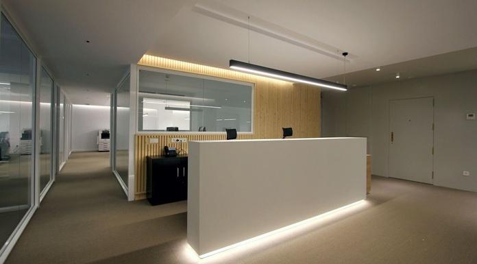 AR168 Diseño y reforma de oficinas - Recepción