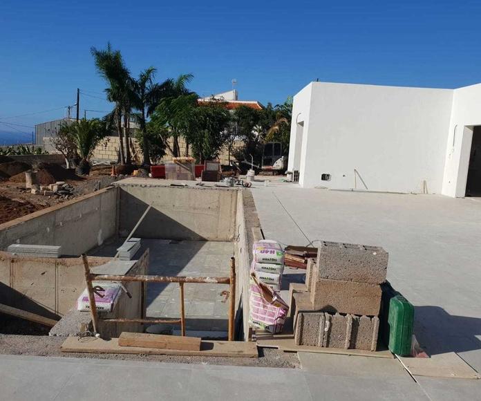 Construcción de chalet en Adeje