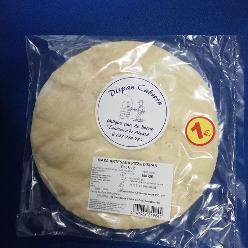 Bases para pizzas: Productos de jose antonio cabrera