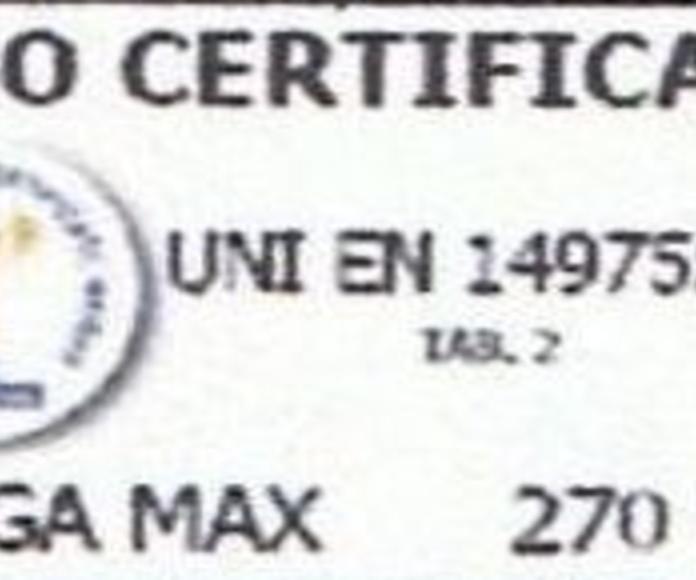 TRAMO TERRAZA 270/300: PRODUCTOS de CARPINTERIA MAZUSTEGUI S.L