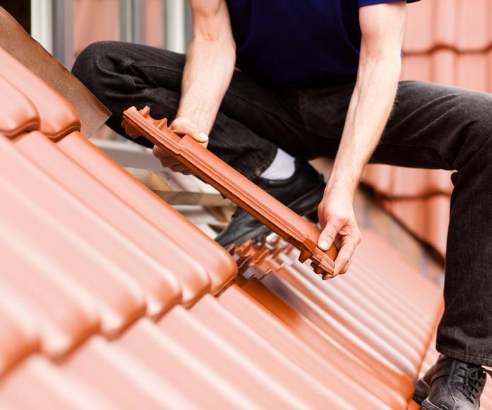 Mantenimiento de tejados: Servicios profesionales de Sanfer Obras, Reformas y Servicios
