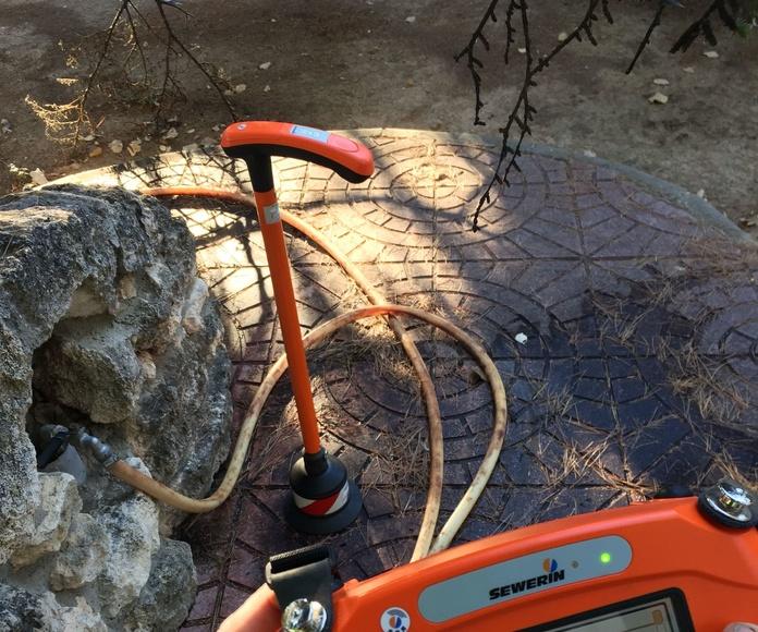 Busca fugas de agua: Fontanería y calefacción  de Fontaneros JP