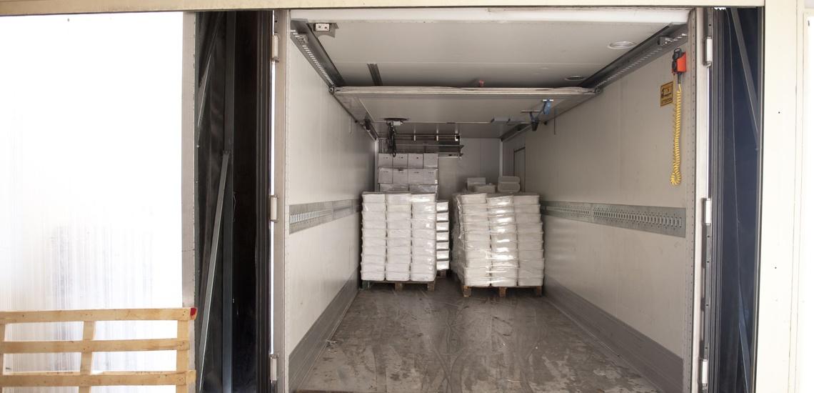 Transportes de frigoríficos en Ourense de confianza