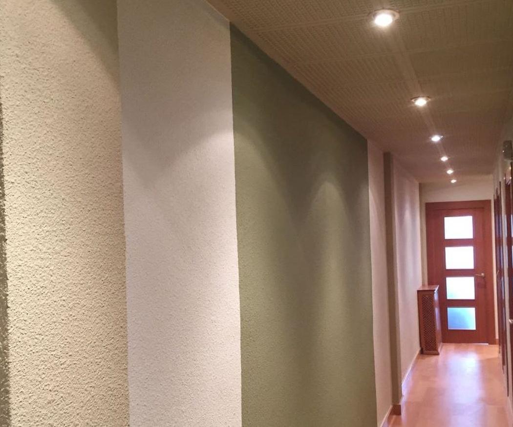 Efectos de pintura en las paredes