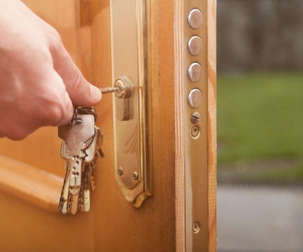 La importancia de cerrar con llave