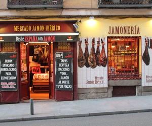Dónde comprar jamón ibérico en Madrid centro