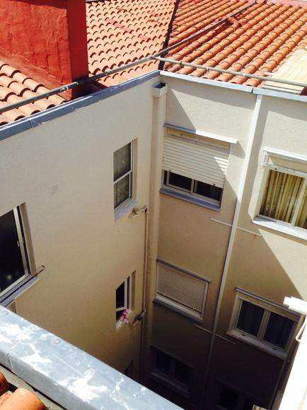 Rehabilitación de patios interiores en Santander