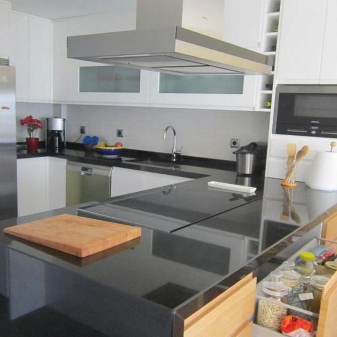 La isla en las cocinas modernas