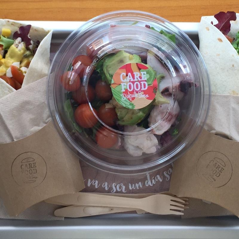 Wraps: Carta de Care Food