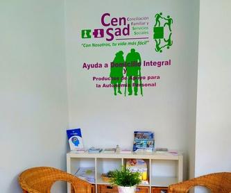 Gestión de internas y empleadas de hogar: Servicios sociales de CenSad Conciliación familiar y Servicios sociales