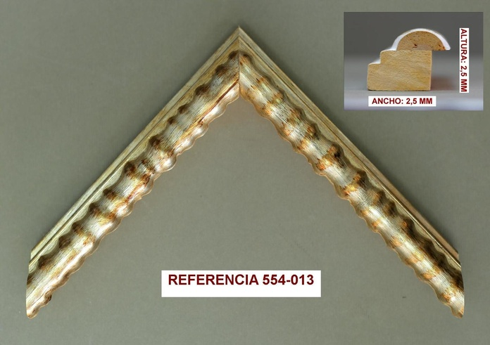 REF 554-013: Muestrario de Moldusevilla