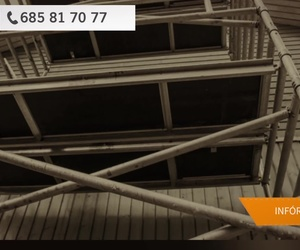 Montaje de andamios tubulares en Badalona, Barcelona | Krilon Project, S.L.