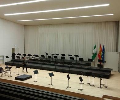GRANAUDIO presente en la inauguracion del PTS con la Orquesta de la UGR
