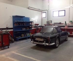 Triumph 1964 en nuestro taller
