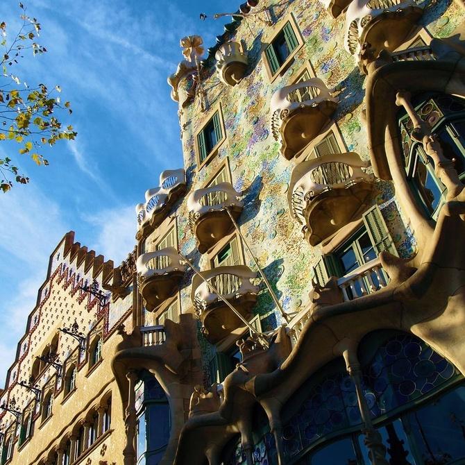 Fachadas del L'Eixample de Barcelona