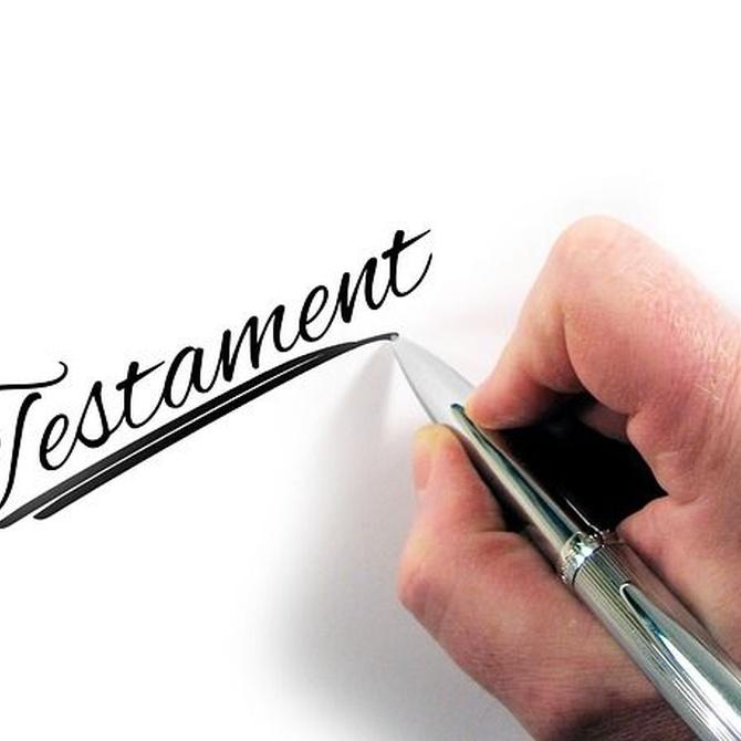 ¿Cuáles son los requisitos para realizar un testamento?