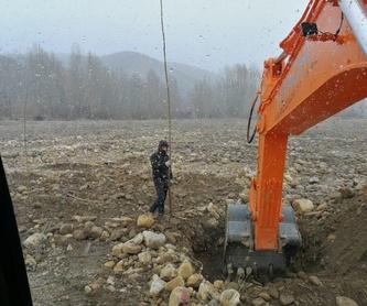 Limpieza de canales, acequias y desagües: Servicios de Excavaciones Marco A. Llamazares