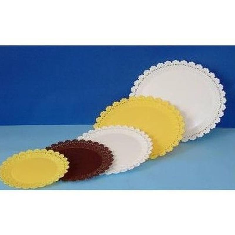 Bandejas redondas con blonda: Productos y servicios de Inserplas S.L.