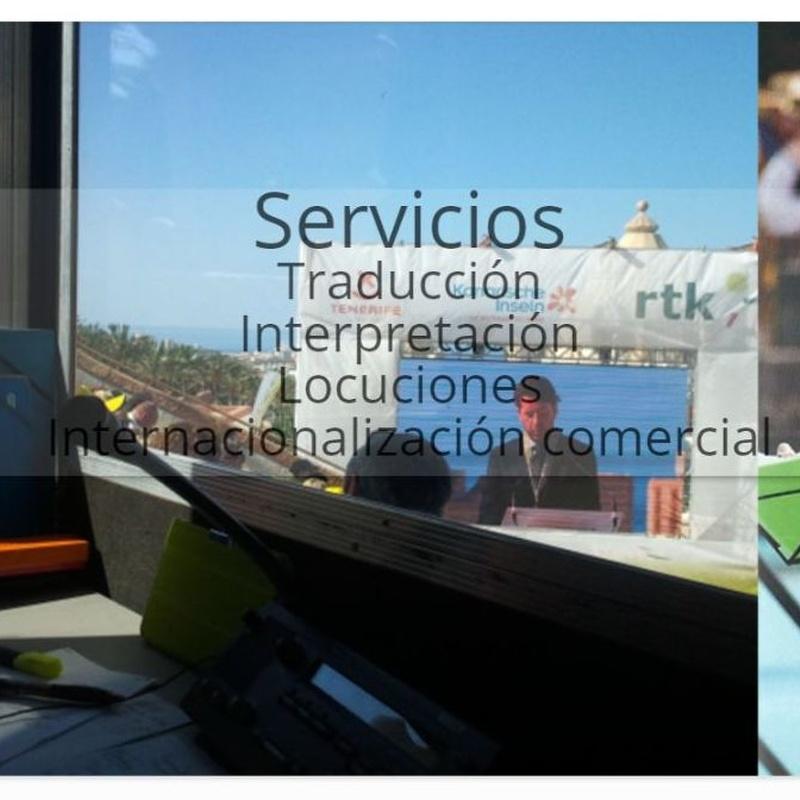 ALGUNOS DE NUESTROS MÁS RECIENTES SERVICIOS DE INTERPRETACIÓN: SERVICIOS de Wai Comunicación