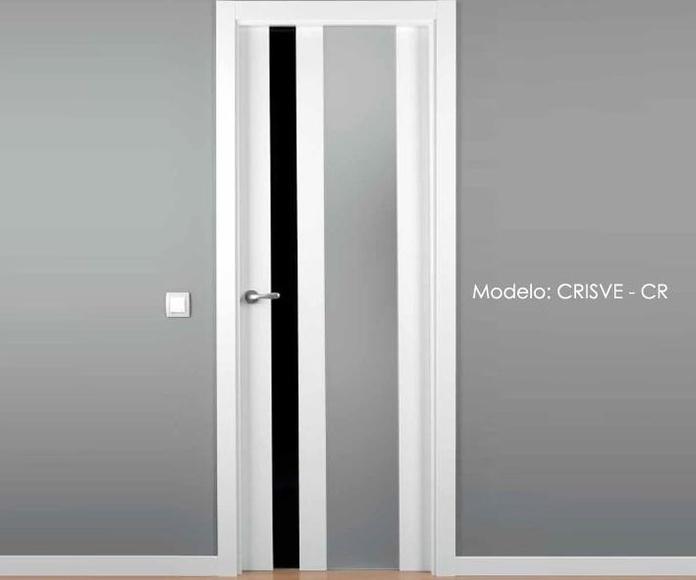 Puerta lacada modelo CRISVE - CR.