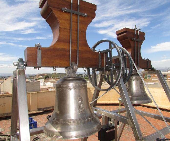 Nuevas campanas de Lliria