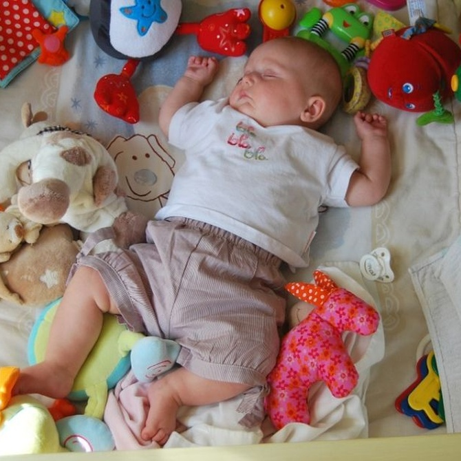 Ideas para comprar juguetes para bebé