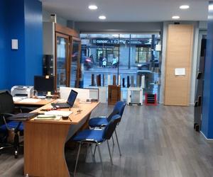 Exposición y oficina