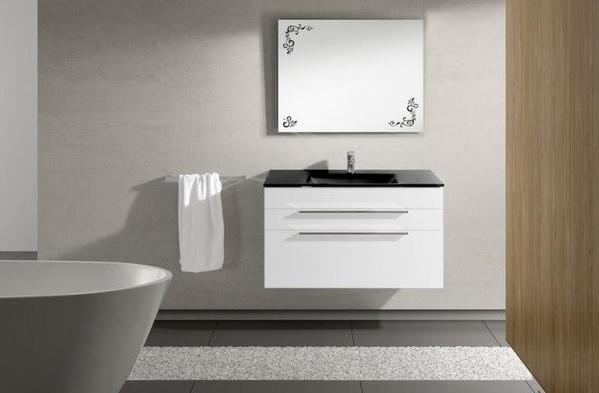 Mueble de baño Vidrebany colección Kubik