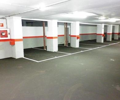 Instalación eléctrica en garaje