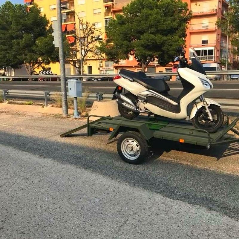 Remolque Motos 003: Remolques de Remolques Garri