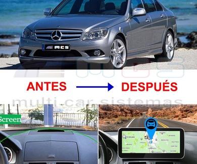 Pantallas ANDROID para sistemas Mercedes Benz Comand NTG-4