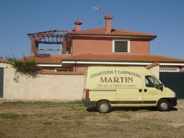 Tejados: Servicios de Ebanistería y Carpintería Martín