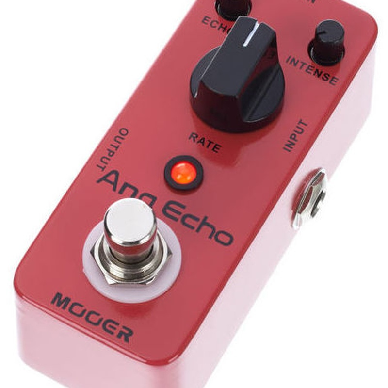 Mooer Ana Echo, Pedal de delay analógico para guitarra eléctrica