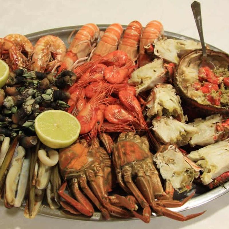 Marisco de nuestras lonjas: Carta de Restaurante Avenida