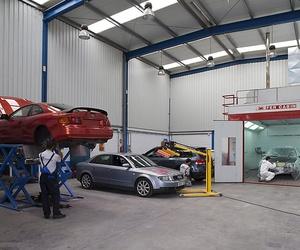 Reparación y mantenimiento de todo tipo de vehículos